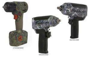 Snap-on Impact Wrenches - CT4410ACAMO / MG325CAMO / MG725CAMO